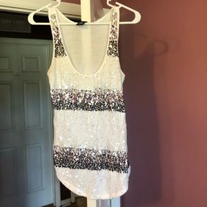 Beautiful sparkly Rue21 tank top